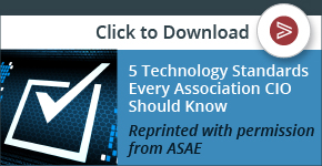 technology standards every association CIO should know